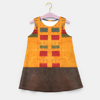 Thumbnail image of Heritage Traditional Leather Moroccan Boho Style  Girl's summer dress, Live Heroes