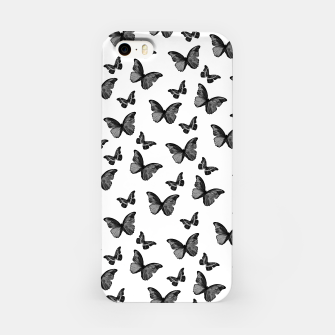 Miniaturka Black & White Butterfly Glam #1 #pattern #decor #art  iPhone-Hülle, Live Heroes