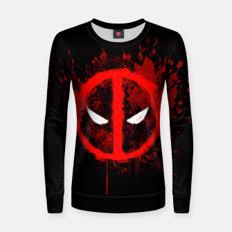 Miniaturka deadpool  Women sweater, Live Heroes