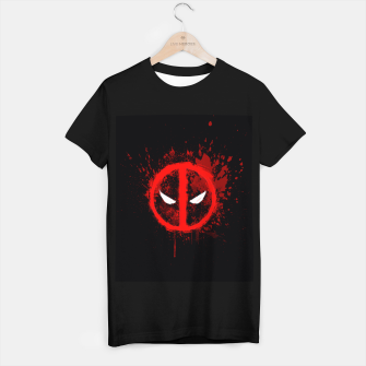 Miniaturka deadpool  T-shirt regular, Live Heroes