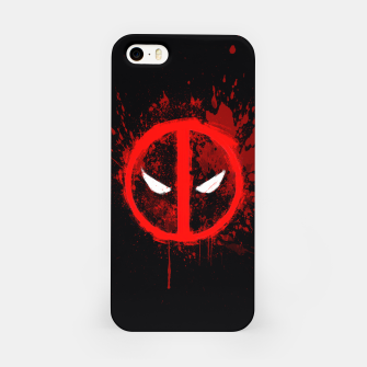 Miniaturka deadpool  iPhone Case, Live Heroes