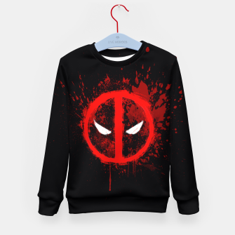 Miniaturka deadpool  Kid's sweater, Live Heroes