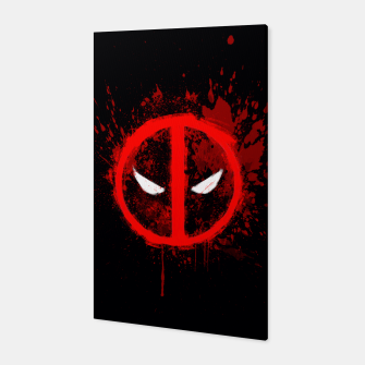 Miniaturka deadpool  Canvas, Live Heroes