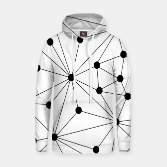 Miniaturka Abstract geometric pattern - black and white. Hoodie, Live Heroes