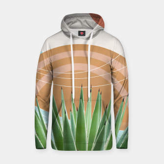 Thumbnail image of Agave in the Desert Oasis #1 #tropical #wall #art  Kapuzenpullover, Live Heroes