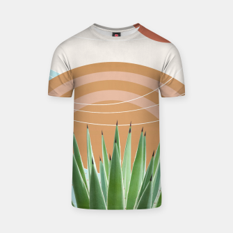 Thumbnail image of Agave in the Desert Oasis #1 #tropical #wall #art  T-Shirt, Live Heroes