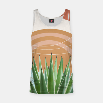 Thumbnail image of Agave in the Desert Oasis #1 #tropical #wall #art  Muskelshirt , Live Heroes