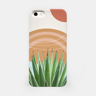 Miniaturka Agave in the Desert Oasis #1 #tropical #wall #art  iPhone-Hülle, Live Heroes