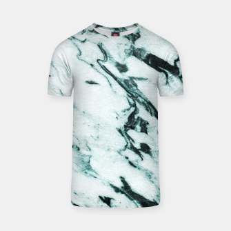 Thumbnail image of Teal Marble Glam #1 #marble #decor #art T-Shirt, Live Heroes
