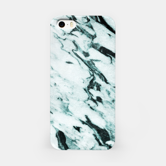 Miniaturka Teal Marble Glam #1 #marble #decor #art iPhone-Hülle, Live Heroes