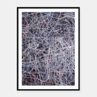 Thumbnail image of fara nume Framed poster, Live Heroes