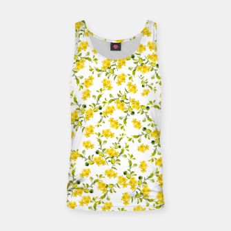 Thumbnail image of Yellow Flower Pattern #1 #spring #floral #decor #art  Muskelshirt , Live Heroes