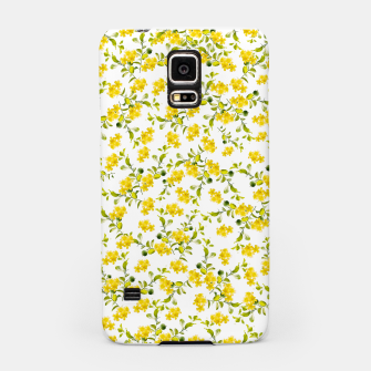 Thumbnail image of Yellow Flower Pattern #1 #spring #floral #decor #art  Handyhülle für Samsung, Live Heroes