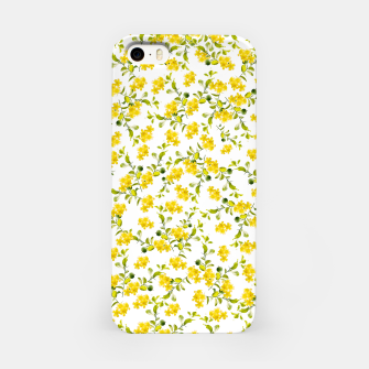 Miniaturka Yellow Flower Pattern #1 #spring #floral #decor #art  iPhone-Hülle, Live Heroes