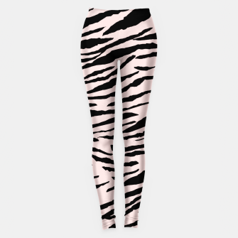 Miniatur Tiger Animal Print Glam #5 #pattern #decor #art  Leggings, Live Heroes