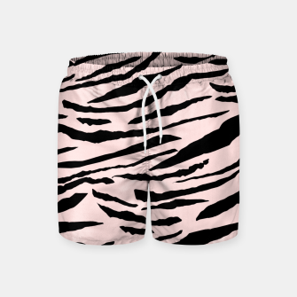 Miniatur Tiger Animal Print Glam #5 #pattern #decor #art  Badeshorts, Live Heroes