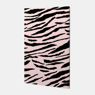 Miniatur Tiger Animal Print Glam #5 #pattern #decor #art  Canvas, Live Heroes