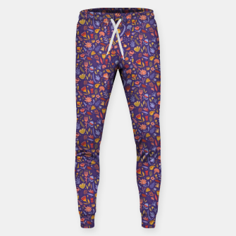 Miniatur Paper Cut Magic Garden at Night Sweatpants, Live Heroes