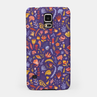 Miniatur Paper Cut Magic Garden at Night Samsung Case, Live Heroes