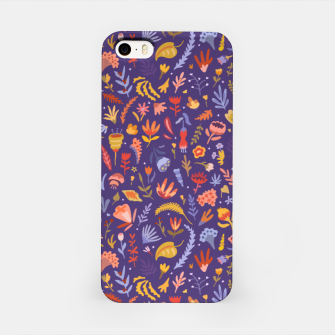Miniatur Paper Cut Magic Garden at Night iPhone Case, Live Heroes