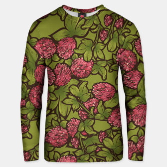 Thumbnail image of Red Clover Unisex sweater, Live Heroes
