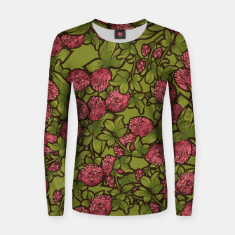 Miniatur Red Clover Women sweater, Live Heroes