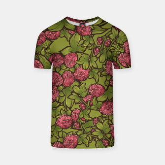 Thumbnail image of Red Clover T-shirt, Live Heroes
