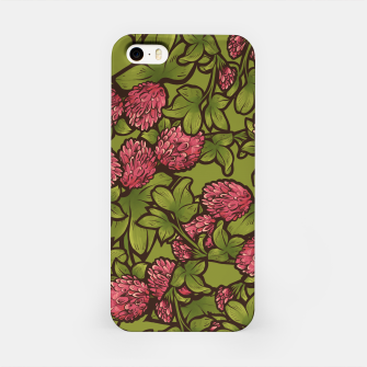 Miniaturka Red Clover iPhone Case, Live Heroes
