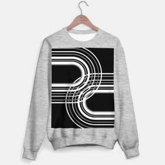 Miniatur Rainbow Arch Minimal Abstract #3 #decor #art  Sweatshirt regulär, Live Heroes