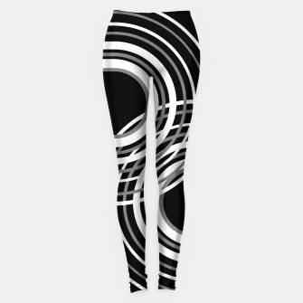 Miniature de image de Rainbow Arch Minimal Abstract #3 #decor #art  Leggings, Live Heroes