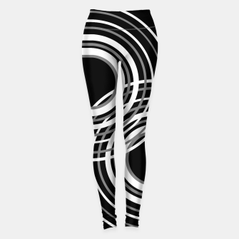 Miniatur Rainbow Arch Minimal Abstract #3 #decor #art  Leggings, Live Heroes