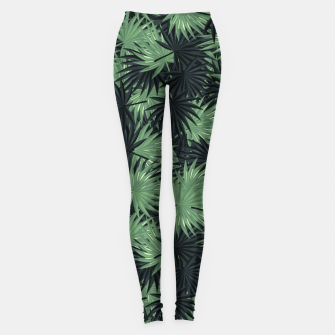 Miniatur Leaves Leggings, Live Heroes