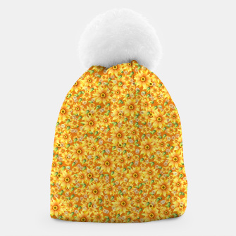 Thumbnail image of Sunflowers Beanie, Live Heroes