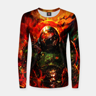 Miniaturka doom Women sweater, Live Heroes