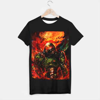 Miniaturka doom T-shirt regular, Live Heroes