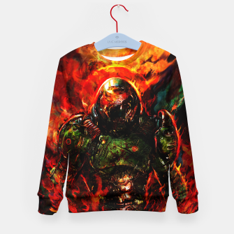 Miniaturka doom Kid's sweater, Live Heroes