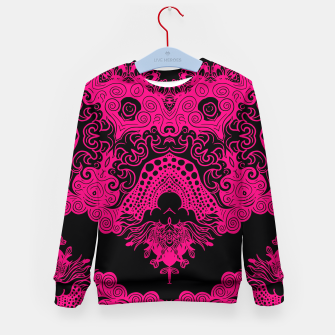 Miniatur Pink Floral Kid's sweater, Live Heroes