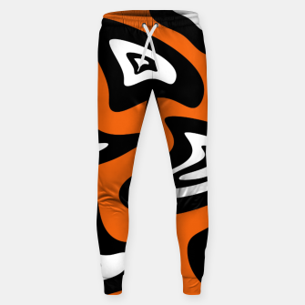 Imagen en miniatura de Abstract pattern - red, black and white. Sweatpants, Live Heroes