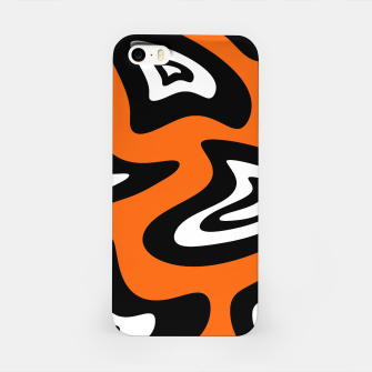 Imagen en miniatura de Abstract pattern - red, black and white. iPhone Case, Live Heroes