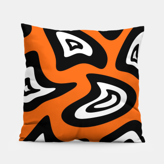 Thumbnail image of Abstract pattern - red, black and white. Pillow, Live Heroes