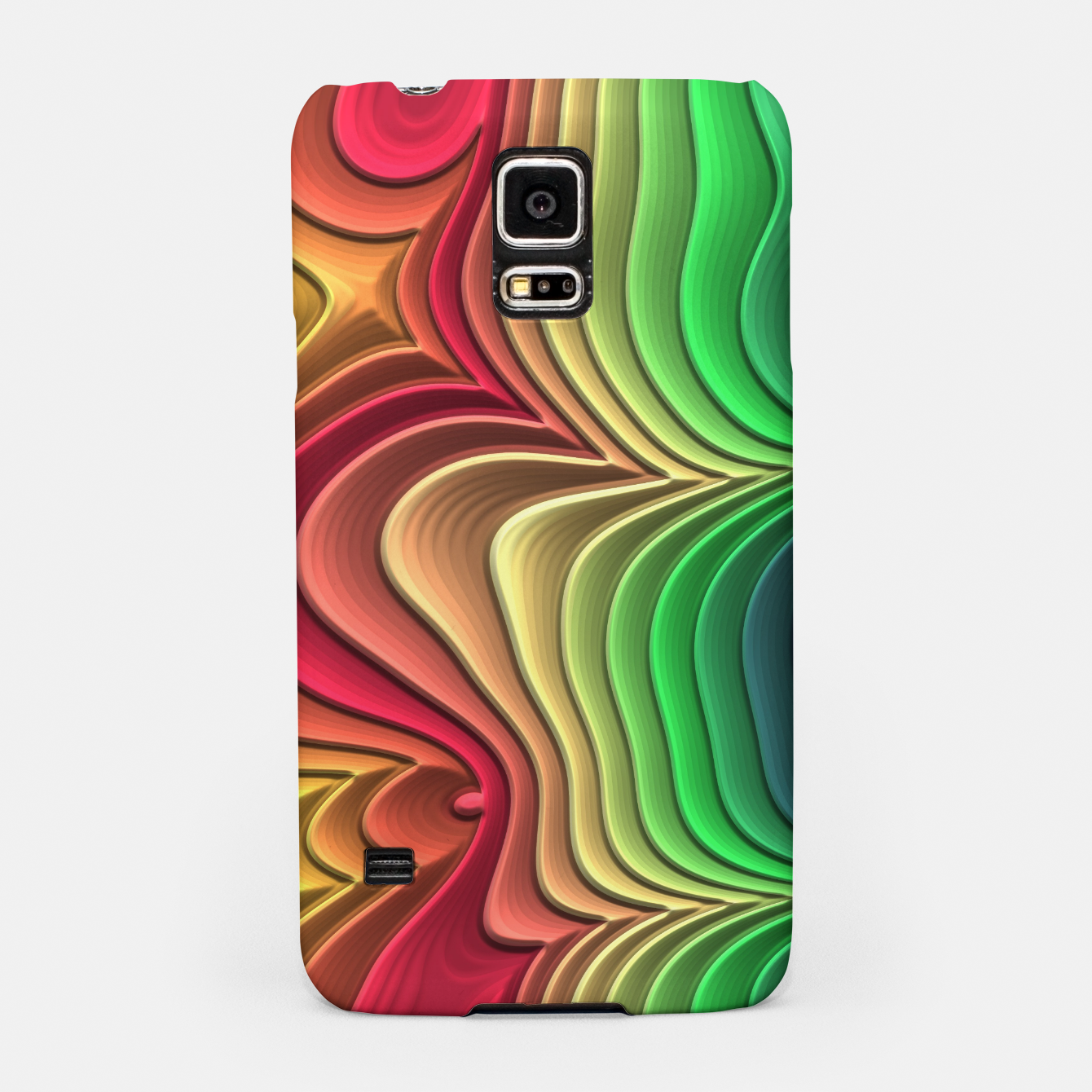 Foto Abstract Layer Waves - 01 Samsung Case - Live Heroes