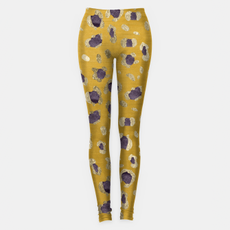Miniatur Leopard Animal Print Glam #10 #pattern #decor #art Leggings, Live Heroes