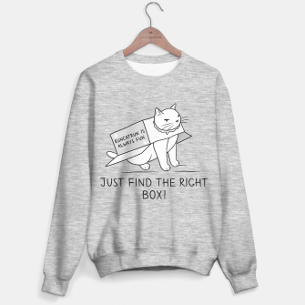 Miniatur Just Find the Right Box Sweater regular, Live Heroes