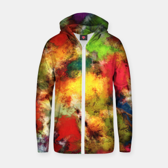 A shouty place Zip up hoodie thumbnail image