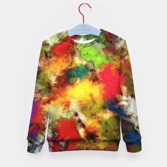 A shouty place Kid's sweater thumbnail image