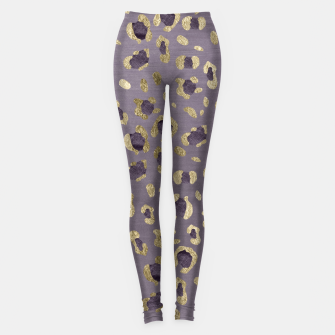 Miniatur Leopard Animal Print Glam #9 #pattern #decor #art  Leggings, Live Heroes