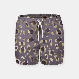 Miniatur Leopard Animal Print Glam #9 #pattern #decor #art  Badeshorts, Live Heroes