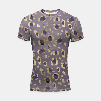 Miniaturka Leopard Animal Print Glam #9 #pattern #decor #art  Shortsleeve rashguard, Live Heroes