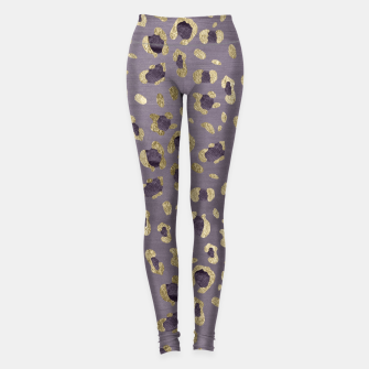 Miniaturka Leopard Animal Print Glam #9 #pattern #decor #art  Leggings, Live Heroes