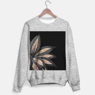 Miniaturka Agave Finesse Glitter Glam #8 #tropical #decor #art  Sweatshirt regulär, Live Heroes